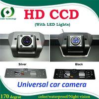 Wholesale HD CCD EU European Car License car backup camera front view camera license plate frame car parking camera Factory