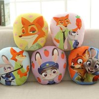 Wholesale Hot Zootopia Cushion Zootopia Cartoon Cushion Pillow Brand Zootopia Pillow Stuffed Plush Zootopia bolster