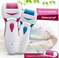 Wholesale Rechargeable Electric Pedicure Foot File Washable Pedicure Tools Foot Care File Dry Hard Skin Callus Remover Pedicure