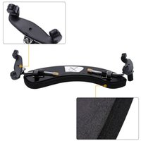 aluminium violin - Aluminium Alloy and Foam Violin Shoulder Rest Pad for Violin Fully Adjustable Sturdy Comfortable