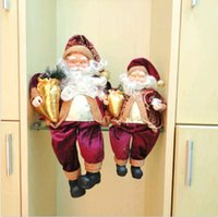 Wholesale Christmas Festival Party Decoration Supplies Santa Claus Children Best Gift inch ems DH04