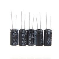 Wholesale 125pcs Value UF UF Aluminum Electrolytic Capacitor Assortment Kit Assorted Set