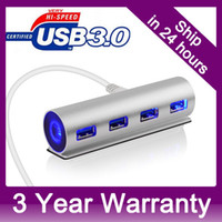 USB 2.0 air bus stock - LED Aluminum Ports USB HUD Bus power for iMac Macbook Pro Air Mini Laptop Notebook Desktop PC with DC Port for Extra Power order lt no