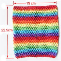 Cheap Fashion Tutu Tube Tops Cute Color Baby Tube Top Chest Warp High Quality Crochet Tube Tops for Toddlers New Arrival CT0709