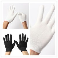 Wholesale New pairs Antistatic Gloves for Computer Electronic Repairing Working Safety Finger Grip Nylon Knit mittens