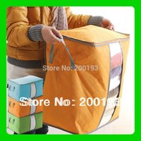 big m markets - SMILE MARKET Big Size Colorful Bamboo Storage Bag for Clothes Quilt Blanket