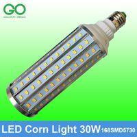 Corn Lumière 30W E27 E40 LED ampoule de maïs blanc chaud blanc froid maïs lampe lampe de jardin Remplacer la lampe halogène de 300W Ampoule LED Aluminium