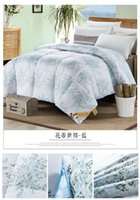 Wholesale Warm Soft Comforter Three kinds of size Five kinds of color quilted quilt tiwn full queen
