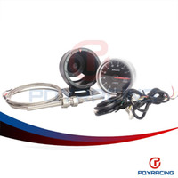 Wholesale PQY STORE Defi CR mm EXT TEMP GAUGE Car Auto Gauge with Red LCD Display Black Face PQY YB6269BK