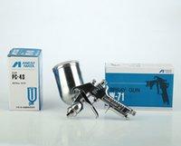 air paint gun cups - hot saled Japan Anest IWATA spray gun W71G CC cup for household furniture painting Paint spray gun air tool