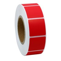 Wholesale red or green office square mm paper sticker label