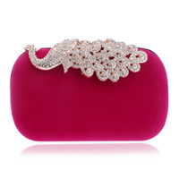 animal print prom - Cute Many Color Chose Bridal Hand Bags Birde Diamons Shinning Wedding Party Prom Evening Women accessories Clutch Bags WWL