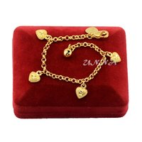 Wholesale Girls Kids Babies K Yellow Gold Filled Heart Charm Bracelet Chain Or Anklets