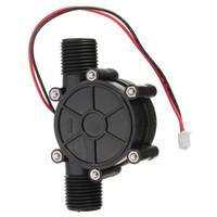 Wholesale High quality PC v v V W DC Micro Hydro Generator Tap Water Flow Hydraulic DIY Inch
