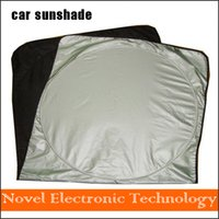 Wholesale cm Car Windshield Sun Shade New Car Styling Nylon Front Window Sunshade UV Protect car Window Film