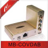 Wholesale 1 CH Component Video Digital Audio Balun cctv balun