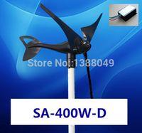 wind power - 400W power supply small Wind Generator V V DIY windmill Wind Turbine W v Charger controller regulator