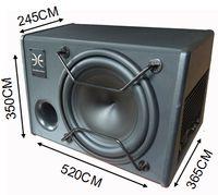 Wholesale 12 car subwoofer car audio with amplifier car subwoofer