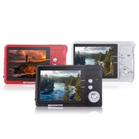 Wholesale High Quality HD Mini Digital Camera MP quot TFT x Zoom Smile Capture Anti shake Video Camcorder order lt no track