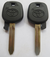 transponder key blank - KL22 NTOY43SHP TOYOTA transponder key shell car key blank high quality