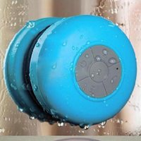 audio car parts - ccessories Parts Speakers Portable Subwoofer Waterproof Shower Wireless Bluetooth Speaker Car Handsfree Receive Call Music Suction Phone