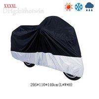 Wholesale HOT SALE Waterproof Motorbike Motorcycle Cover Rain Protection Breathable Largest XXXXL