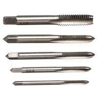 best hammer drills - Best Price Set HSS M3 M4 M5 M6 M8 Machine Spiral Point Straight Fluted Screw Thread Metric Plug Hand Tap Drill