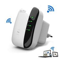 achat en gros de gamme routeur expander-Wireless 802.11N WPS 300Mbps Wifi Repeater AP Routeur Gamme Expander