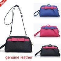 Wholesale New Genuine Leather Bag women messenger bags designer shell crossbody women bag summer style high quality A1802