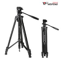 Wholesale Hot Portable Weifeng WF E Aluminum Tripod For Digital Camera With D Head Net weight kg sections Free Ship By DHL