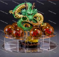 Wholesale Dragon Ball Z PVC Figure dragon ball z Model Toy esferas del dragon cm PVC balls shelf Dragonball Doll