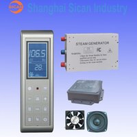 Wholesale 3KW Steam Generator Sauna Bath Home SPA Shower W FM Radio MP3 Player
