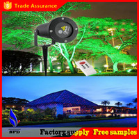 Wholesale Mini Outdoor green red Laser Project Landscape Lighting Show Outside Christmas Tree Garden Home laser Lighting