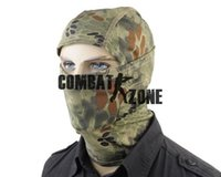 activities hood - New Type Outdoor Activity Tactical Full Face Protection Quick drying Fabric Hood Face Mask Protection Color