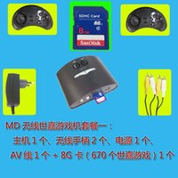 Wholesale MD bit console player for sega video game player MD console game cartridges built in games mega drive To give you more than Sega game