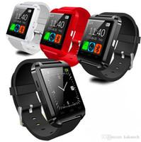 U8 reloj con altímetro Bluetooth inteligente reloj del reloj para el iPhone 4 / 4S / 5 / 5S Samsung S4 / Nota 2 / Nota 3 Smartphones Android Phone