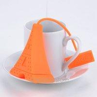 Wholesale Silicone Paris Eiffel Tower Tea Strainer Gift Tea Infuser Bag Filter PMHM706