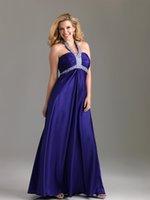 designer plus size - 2015 New Fashion Taffeta Designer Plus Size Special Occasion Dresses Sexy Halter Backless Ankle Length A Line Custom Made