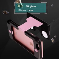 aspheric optics - VR Mobile Phone Case Virtual Reality Glasses Hybrid ABS and PC Figment Aspheric optics for iPhone S Plus Inch
