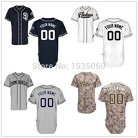 Baseball baseball padres - mens womens kids2016 New San Diego Padres jersey custom Personalized Stitched authentic baseball jerseys cheap Customized white blue grey