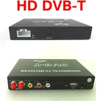 Wholesale HD p HDmi sd usb Car DVB T MPEG tuner receiver box with Video output Dual Tuner