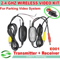 Wholesale Ghz Wireless Camera Video Transmitter and Receiver for Car Rear View Camera and Car DVD Player Parking Monitor