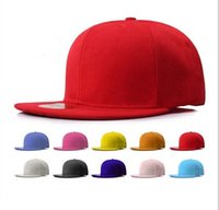 Wholesale High Quality Hot Selling Plain Blank Snapback hats black Snapbacks Snap Back Strapback Caps Hat Mix order