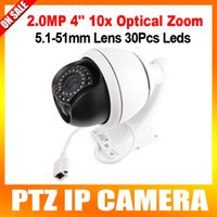 indoor mini dome ip camera - HD MP Indoor mm Optical Zoom Onvif P2P CCTV P Inch Mini Middle Speed Dome PTZ IP Camera CMS Browser Mobile View x zoom lens