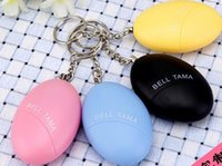 Wholesale Personal Alarm Bell Tama Loud Safe Stable Decibels Mini Keychain Alarm Safe Football Panic Anti Rape Attack Safety Security