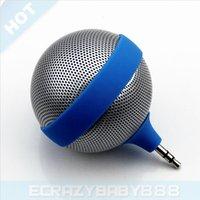 air mini speakers - Cute Mini Microphone Style mm Jack Speakers for iPhone Plus iPhone S iPad Air iPad Mini Samsung Galaxy NOTE NOTE S5 HTC One M8
