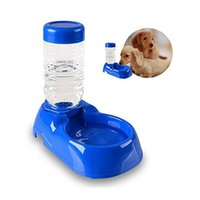 automatic water bowl for cats - New Eco friendly Food Grade Plastic Pet Drinking Bowl Water Feeding Bowl For Dogs and Cats Auto Supply Waterer