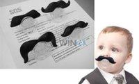 Wholesale Hot Selling Baby Products Baby Cute Black Dummy Mustache Pacifiers Novelty Children Soother Nipple Infant Pacifiers