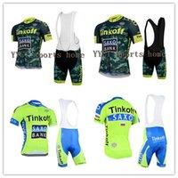 bib culotte - Cycling Jersey Ropa Maillot Culotte SaxoBank Tinkoff Bike Men Ciclismo Bicycle Wear clothing MTB shirt gel bib shorts sets