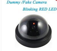 Wholesale Indoor Surveillance Dummy Ir Led Wireless Fake dome camera home CCTV Security Camera Simulated video Surveillance